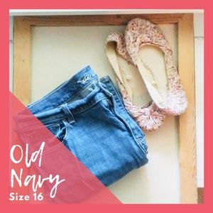 "PLUS Old Navy ""Sweetheart"" Boot-Cut Jeans"